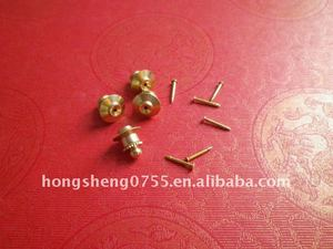 Pin attachments/ pin findinds for lapel pin/ badges