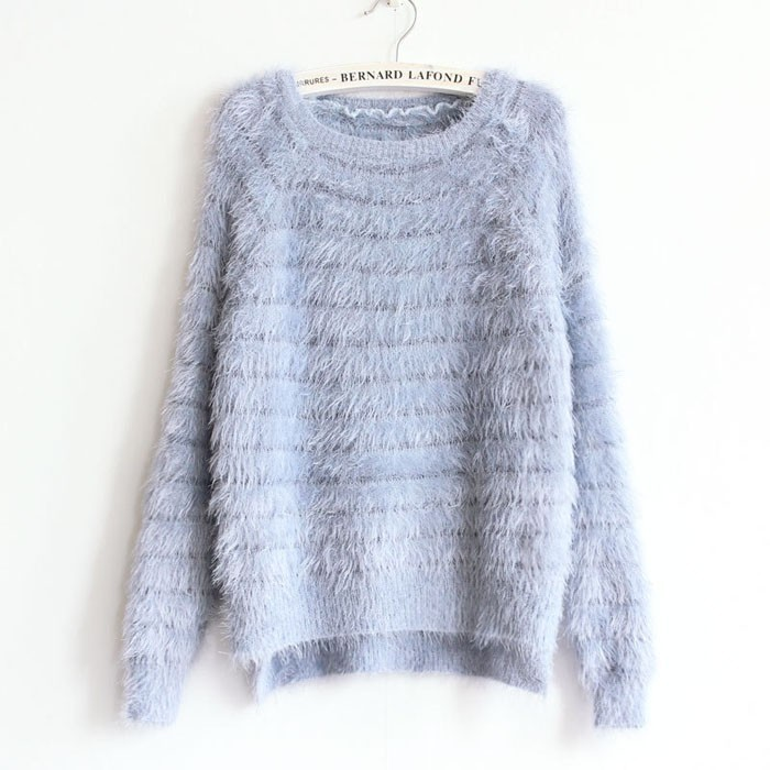 2019 Wholesale Kawaii Sweater 2016 Fashion Women Knitted Mohair ... 8790a3e3b