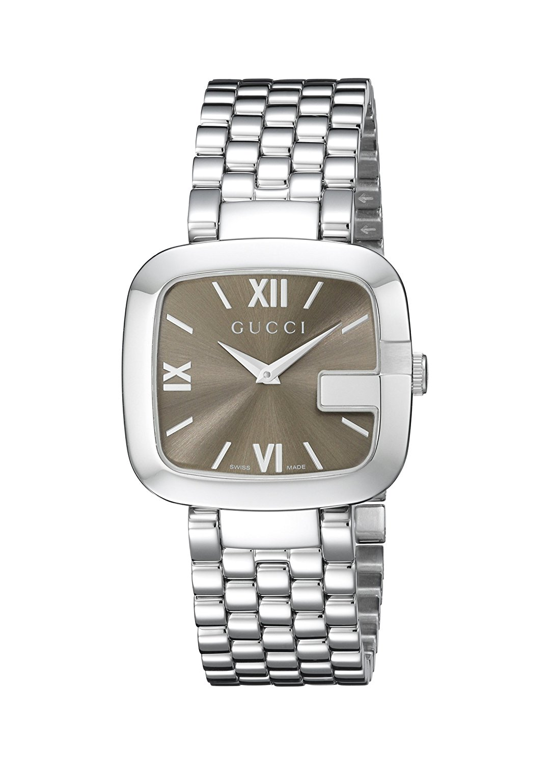 5f53a12ae0c Gucci G-Gucci Stainless Steel Women s Watch(Model YA125410)