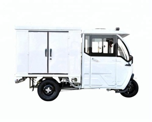 High Quality CE Cabin Cargo Electric Tricycle 650W/800W/100W