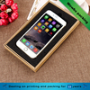 Customized brown kraft paper cell phone case packaging box