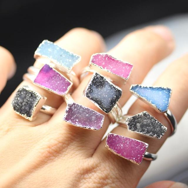 Buy Cheap China druzy gemstone ring Products, Find China druzy ...