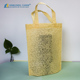 Eco-friendly Colorful Plastic Burlap Bag with Handles