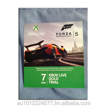 Xbox Live 7 Day Gold Codes - Buy Xbox Live Codes Product on Alibaba com