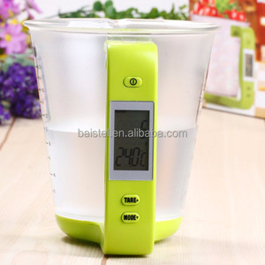 High Quality Electronic Digital LCD Display Jug Baking Tools Kitchen Scale Measuring Cup Scale