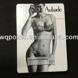 Custom porn star nude naked girl sexy adult plastic playing card,pvc poker