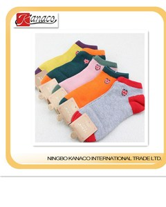 gilr's ankle sock printed sock,colorful sock forchildren