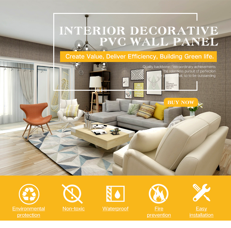 PVC Wall Panels For Decoration