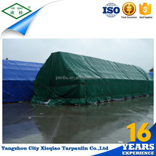Hot selling Outdoor PVC tarpaulin tents outdoor canvas camps