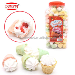 HALAL Mini Soft Cake Marshmallow with Jelly Center Filling