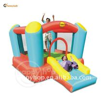 Happy Hop Inflatable castle-9220B Airflow Bouncer with Slide