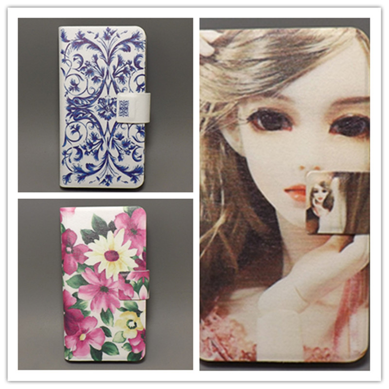 buy online f6a14 a2d57 10 species pattern Flower Flag design Flip cover For Nokia Asha 308 309  N308 N309 cellphone Case Freeshipping