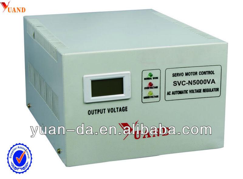 Servo Motor Avr Type Voltage Stabilizer Circuit