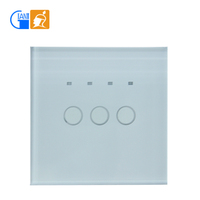 Electric wall switch LED indicator touch screen switch for smart home JJ-TSA-03