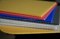 high quality professional manufacture fire retardant pp polypropylene plastic corrugated sheets 4x8