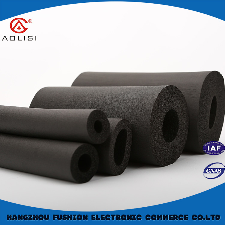 Pvc/nbr rubber foam pipe/tube,polyurethane foam filled insulation pipe