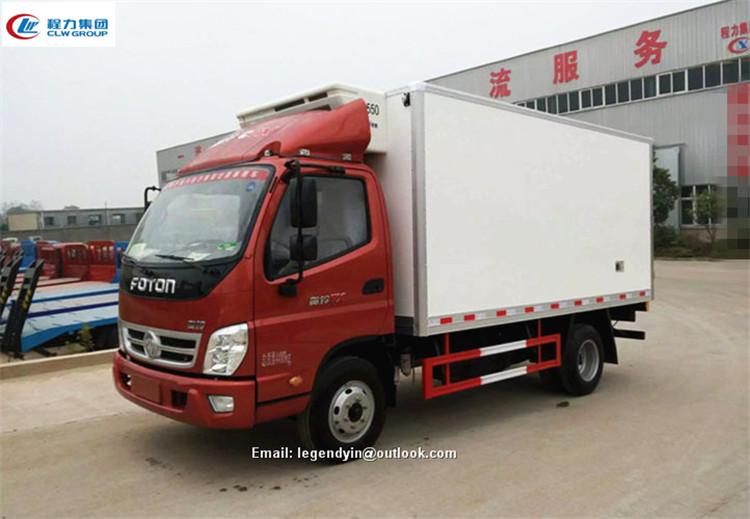 Brand New Foton Lhd Rhd 4x2 4x4 Optinos Frozen Van Truck Light Duty