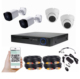 wholesale mini metal camera 30m night vision 4pcs 1080p ahd security camera cctv 1080n dvr