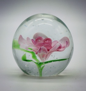 Christmas Cheap Blank Murano Oval Custom Blown Art Glass Paperweight Souvenir