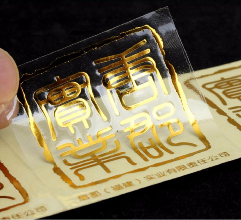 Wholesale Custom Transparent Stickers Die Cut Printing