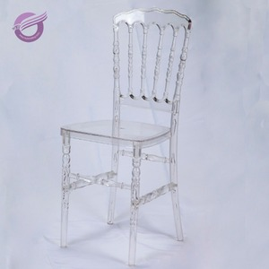 ZY00180 kaiqi clear resin cheap plastic chair