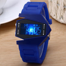 China supplier cheap 30ATM smart hot sale fashion silicon led watch