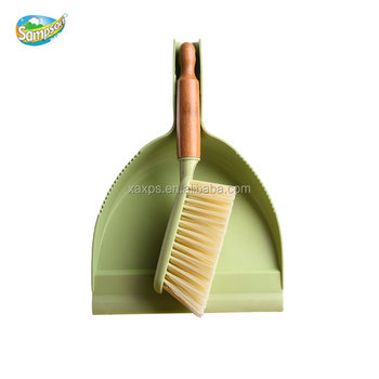 Natural High Quality Dusty Brush With Dustpan Set For Table