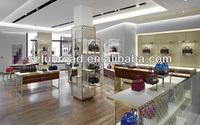 Modern Bags Store Showcase Display Rack In Boutique Showroom - Buy ...