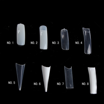 500pcs Bag Acrylic Nail Tips Supplies Diffe Types