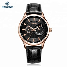New classic casual boy fashion quartz hands male watch