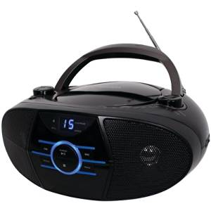 "Jensen Portable Stereo Cd Player With Am/Fm Stereo Radio & Bluetooth(R) ""Product Category: Boom Boxes/Boom Boxes"""