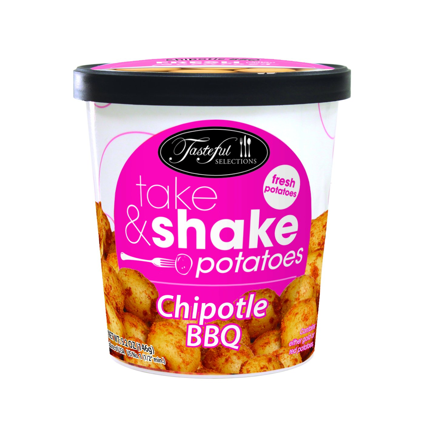 Tasteful Selections Take & Shake Chipotle BBQ, 5.2 oz(us)