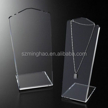 Acrilico trasparente lucite jewelry display <span class=keywords><strong>holder</strong></span>
