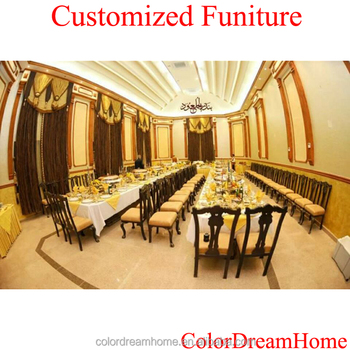 High Quality Fashion Royal Arabic Style French Italian Classic Dining Room