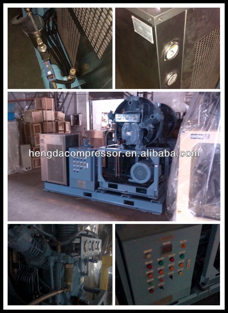 56CFM 435PSI Hengda high pressure 134a refrigeration compressor