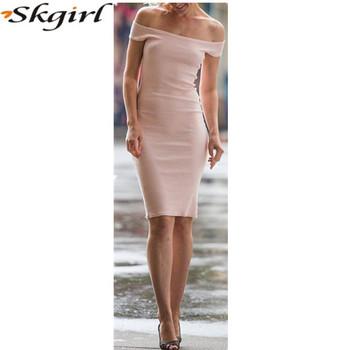 6fade98aaa1b Stylish Off Shoulder Dress Tight Sexy Pencil Bodycon Dress - Buy ...