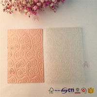Europe style scrapbook embossing folder for card making
