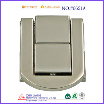 wholesale price Nickel case Accessories Small Metal Box Latch