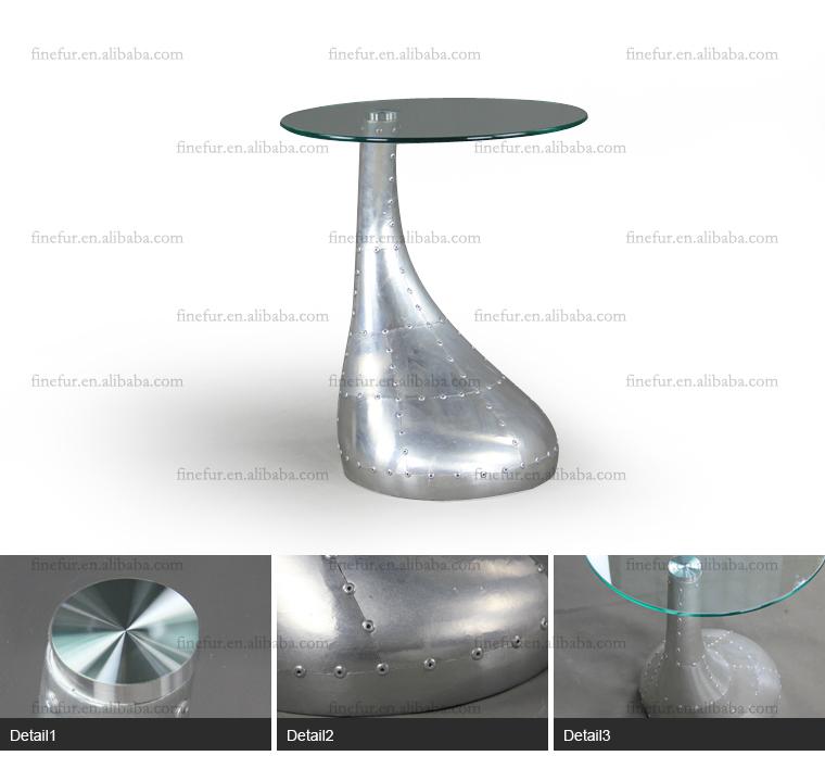 Aluminium Coffee Side Table,Spitfire Sofa Side Table