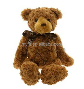 Customer design hands and legs moving brown plush materials joint teddy bear