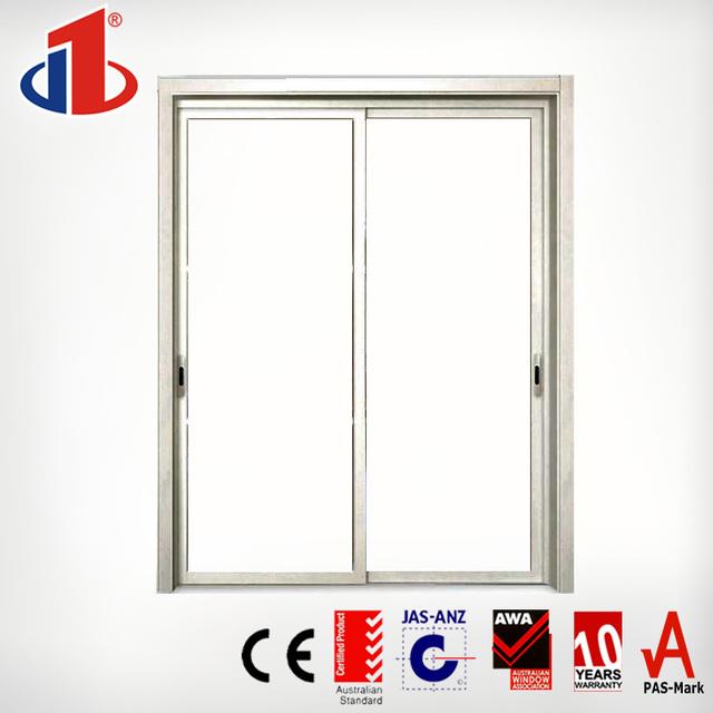 Modern Design Soundproof Interior 3 Panel Glass Sliding Fiber Bathroom Door