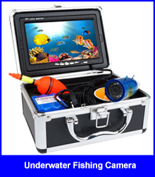 "Cheaper HD Waterproof 20M Cable 360 Degree Rotating Underwater Fishing Camera Kit With 7"" TFT Color Fish Finder"