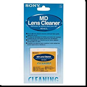 SONY MD-6LCL Mini Disc Lens Cleaner (SONY MD6LCL) (Discontinued by Manufacturer)