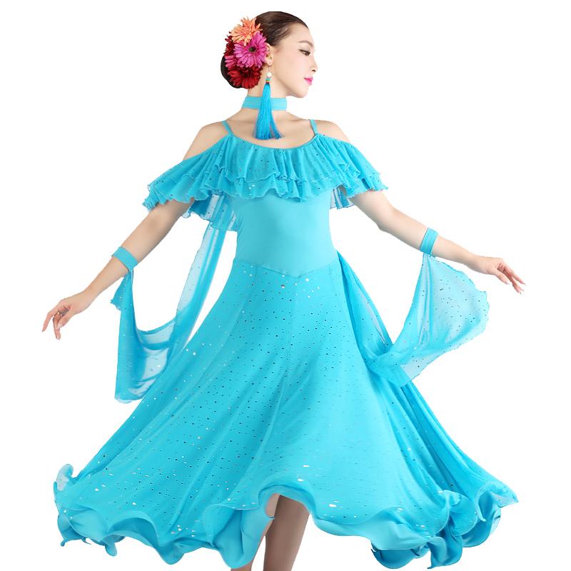 48ad66f7e5eb Get Quotations · AAW 2015 summer new style sexy long ballroom dress o-neck dance  dresses ballroom hot