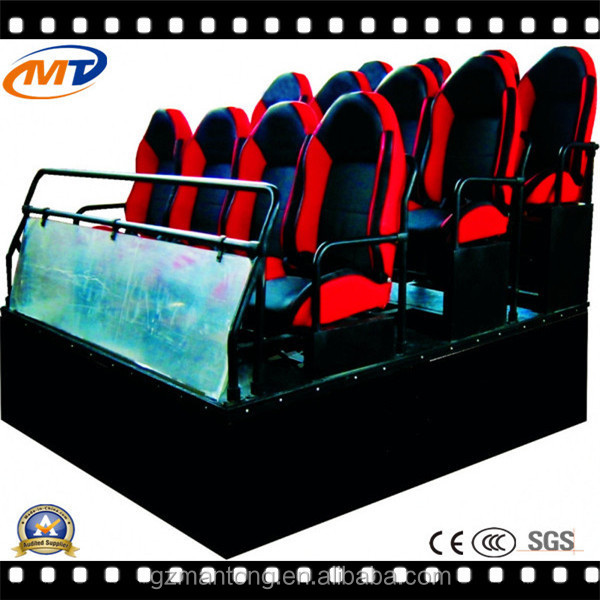 Hot Sell arcade game machine 6 deats 5D Cinema,5D Motion Cinema Equipment,5d mobile truck