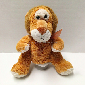 Christmas toy anime duck frog dingo Full Body glove lion Hand puppet for sale