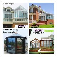 AluminiumTop grade aluminum frame Garden Sun house with Insulated Glass