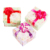 Double Layers Heart Candy Box Wedding Paper Chocolate Sweet Favor Box Decoration