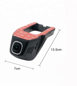 Full HD 1080P Car Dash Cam Mini Hidden Car DVR Dash Camera with WIFI Driving Recorder