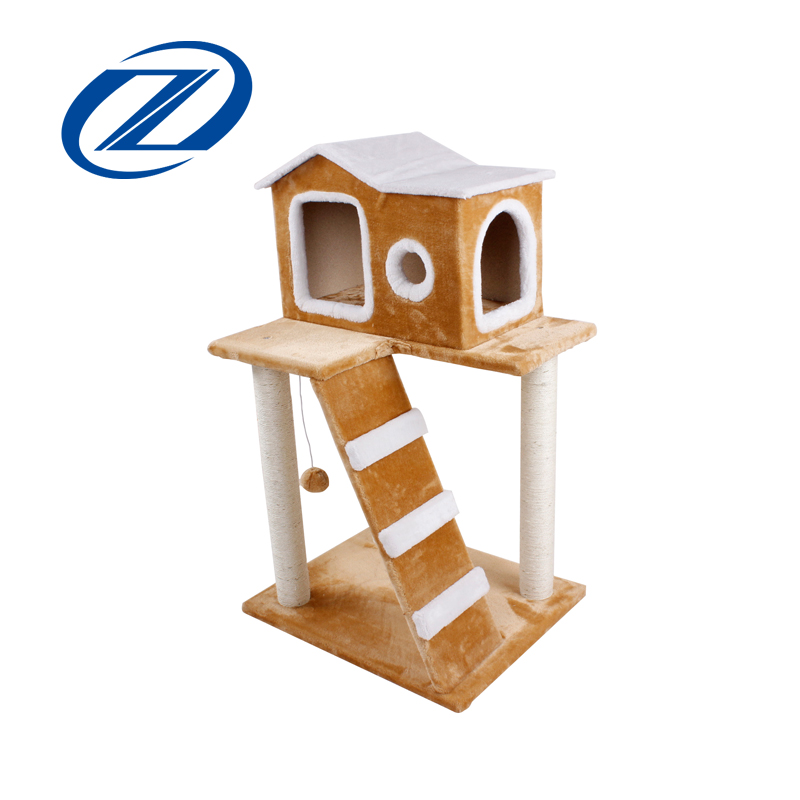 Wholesale Eco-Friendly Cat Trees Cat Scratchers With Ball Hot Selling Good Reputation High Quality